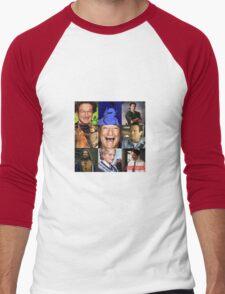 Robin Williams Collage Men's Baseball ¾ T-Shirt