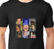 Robin Williams Collage Unisex T-Shirt