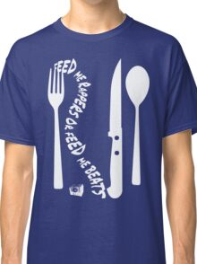 Hungry [Forks n Knives] | Stay Hungry Stay Foolish Shirts Classic T-Shirt