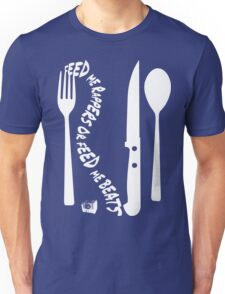 Hungry [Forks n Knives] | Stay Hungry Stay Foolish Shirts Unisex T-Shirt