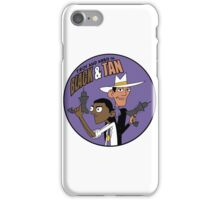 Troy and Abed in Black and Tan iPhone Case/Skin