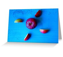 Red Apple . Greeting Card
