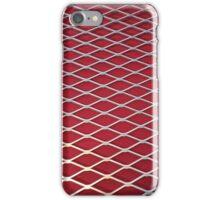 Red Industrial Deco Art iPhone Case/Skin