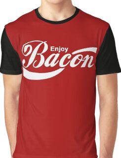 Enjoy Bacon Graphic T-Shirt