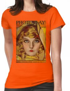 Lillian Gish - Photoplay 1921 Womens Fitted T-Shirt