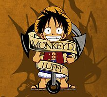 Chibi Luffy by AlexKramer