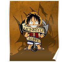 Chibi Luffy Poster