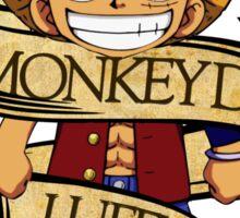 Chibi Luffy Sticker