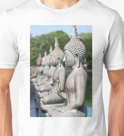 Buddha Statues, Seema Malakaya, Sri Lanka Unisex T-Shirt