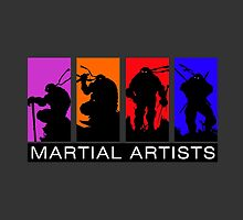 Martial Artists by AlexKramer