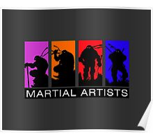 Martial Artists Poster
