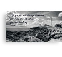 Beacon of Safety Canvas Print
