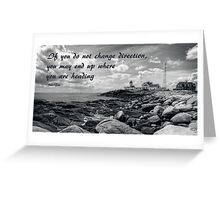 Beacon of Safety Greeting Card