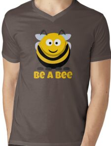 Be A Bee Cool Cute Funny Cartoon T-Shirts and Gifts Mens V-Neck T-Shirt