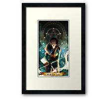 The star  Framed Print