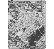 Minneapolis in wireframe iPad Case/Skin