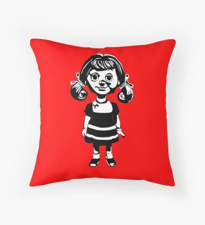 Doll Throw Pillow