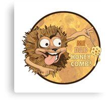 Me Dab Honeycomb! Canvas Print