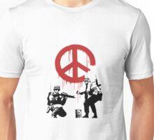 banksy_peace Unisex T-Shirt