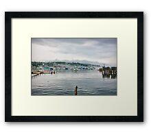 Clearing Harbor Framed Print
