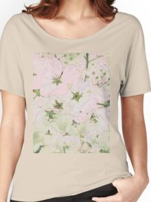 Cherry Blossoms Background Women's Relaxed Fit T-Shirt