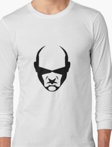 man black and white Long Sleeve T-Shirt