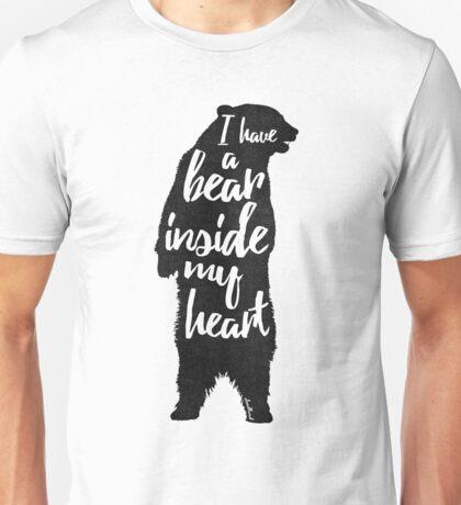Bear Heart Unisex T-Shirt