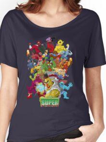 Super Sesame Street Fighter Women's Relaxed Fit T-Shirt