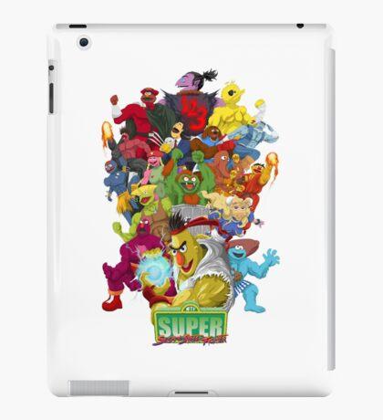Super Sesame Street Fighter iPad Case/Skin