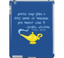 R I P Robin Williams iPad Case/Skin