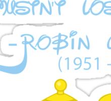 R I P Robin Williams Sticker