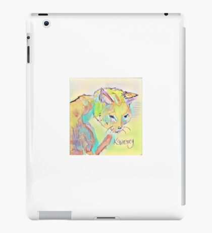 Pastel Pussycat iPad Case/Skin
