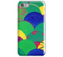 Multi-colored Mermaid Tail  iPhone Case/Skin
