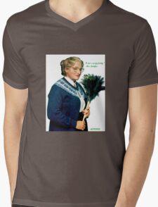 Mrs. Doubtfire Mens V-Neck T-Shirt