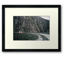 Explore the world Framed Print