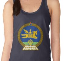 State Seal of Mongolia - Horse Country! Women's Tank Top
