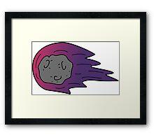 Asteroid Days Framed Print