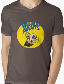 Valhalla awaits Mens V-Neck T-Shirt