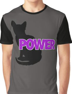 PUSSY POWER Graphic T-Shirt