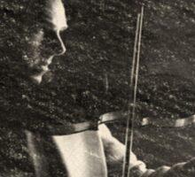 The Violinist Sticker