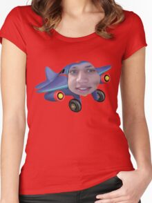 Tyler the jet engine Women's Fitted Scoop T-Shirt