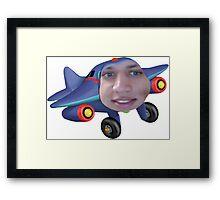 Tyler the jet engine Framed Print
