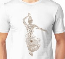 Indian Dancing Pose Unisex T-Shirt