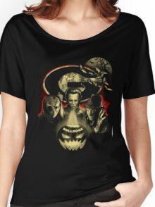 Georgia Bulldogs Halloween T-shirt  Women's Relaxed Fit T-Shirt