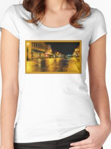 Historic Downtown Women's Fitted Scoop T-Shirt