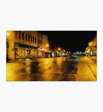 Historic Downtown Photographic Print