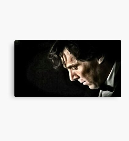 The Contemplative Consulting Detective Canvas Print