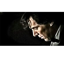 The Contemplative Consulting Detective Photographic Print