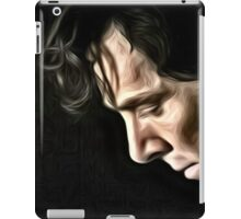 The Contemplative Consulting Detective iPad Case/Skin