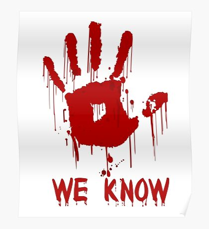 We Know Poster